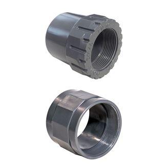 UH-PVC Tek Taraf İçten Dişli Redüksiyonlu Adaptör için detaylar