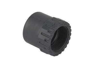 UH-PVC Dış Diş İç Diş Redüksiyonlu Adaptör resmi