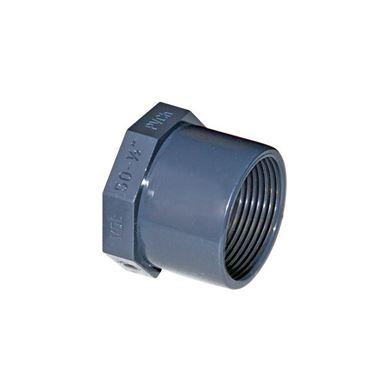 UH-PVC Tek Taraf İç Dişli Redüksiyonlu Adaptör resmi