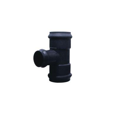 U-PVC 90° Geçme Muflu Dirsek Te F / F / F resmi