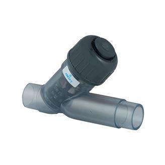 U-PVC Temizleme Y Filtresi (Şeffaf Gövdeli) için detaylar