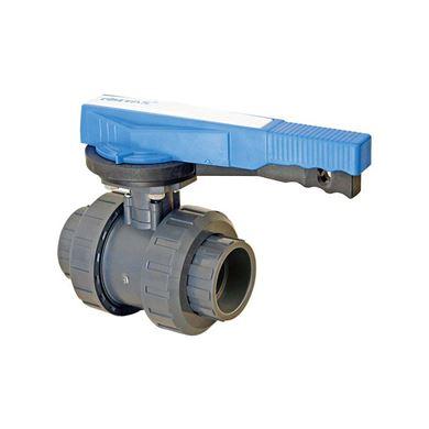 U-PVC Yapıştırma Muflu Küresel Su Vanası (Pozisyon Ayarlı) resmi