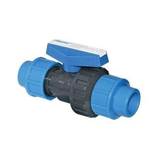 U-PVC Küresel Su  Vanası Çift Taraf Kaplin Çıkışlı için detaylar
