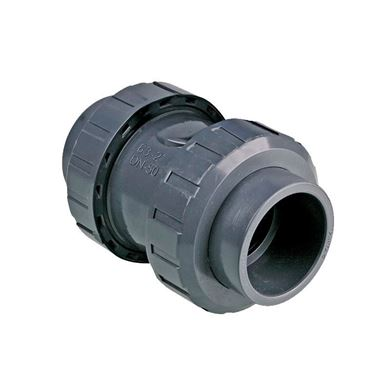 U-PVC Yapıştırma Muflu Yaylı Çekvalf resmi